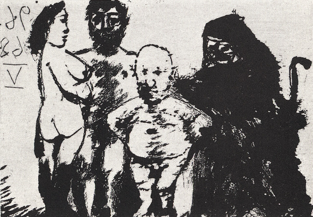 , 'Petit Vieux Flatté par la Célestine, 9.6.68 V,' 1968, Alan Cristea Gallery