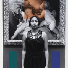 George Woodman, 'Sharela in Metropolitan Museum with Painting by Guido Reni', 2013, Nina Johnson