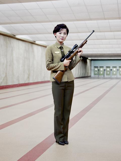 , 'Gun Instructor (Pyongyang),' 2015, The Ravestijn Gallery