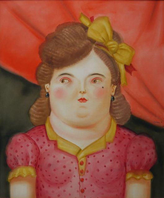 , 'Mujer con Moño,' 1981, Galería Duque Arango