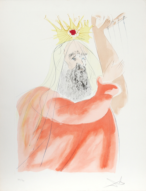 Salvador Dalí, 'King David', 1975, RoGallery