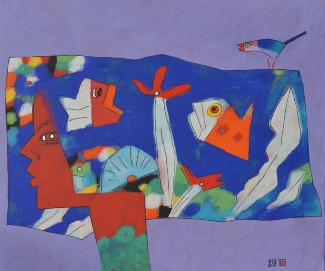 , 'Accompany(同行),' 2012, Bon Gallery