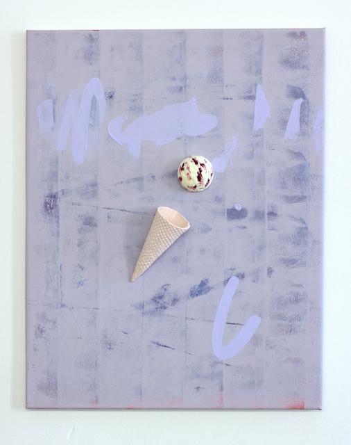 , 'Floatingice cream(Raspberry Milk),' 2014, XYZ collective