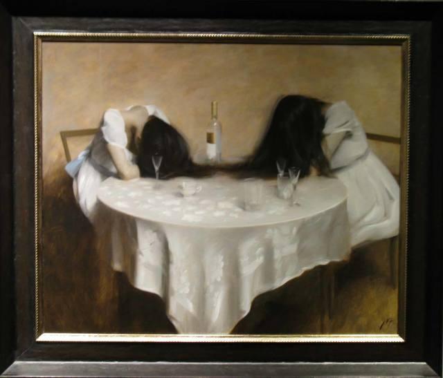 "Nicholas Alm, '""Drinking Sisters"" ', 2014, ARCADIA CONTEMPORARY"
