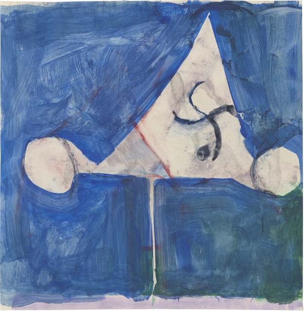 , 'Untitled,' ca. 1981, Richard Diebenkorn Foundation
