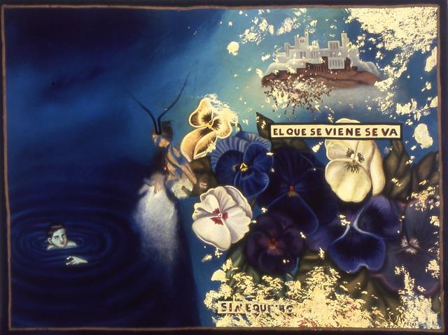 Julio Galán, 'El Que Se Viene Se Va', 1988, Mana Contemporary