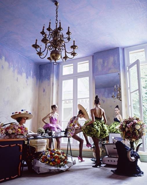 Arthur Elgort, 'Romance, Christian Lacroix's Couture House, Paris, House and Garden', 1988, Fahey/Klein Gallery
