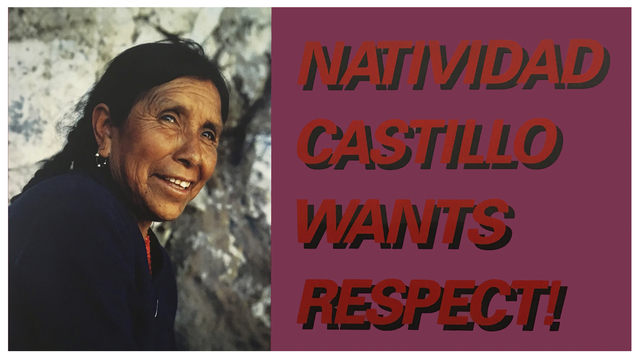 , 'Natividad Castillo Wants Respect,' 1989, Royale Projects