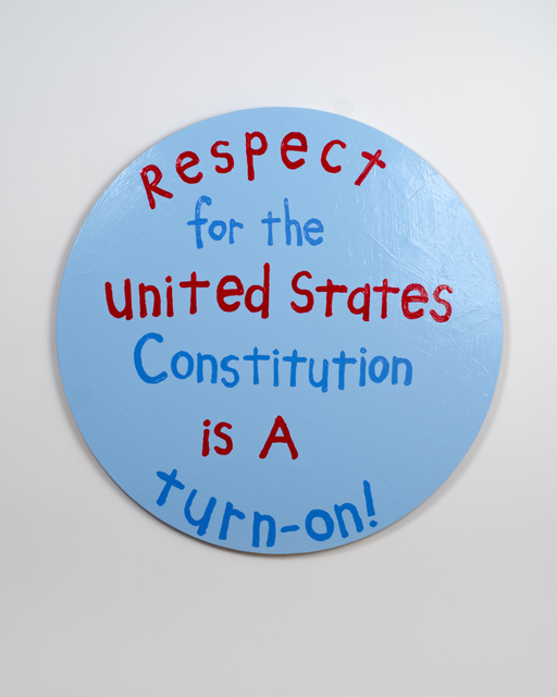 , 'Respect for the United States Constitution is a Turn-On!,' 2018, Fleisher/Ollman