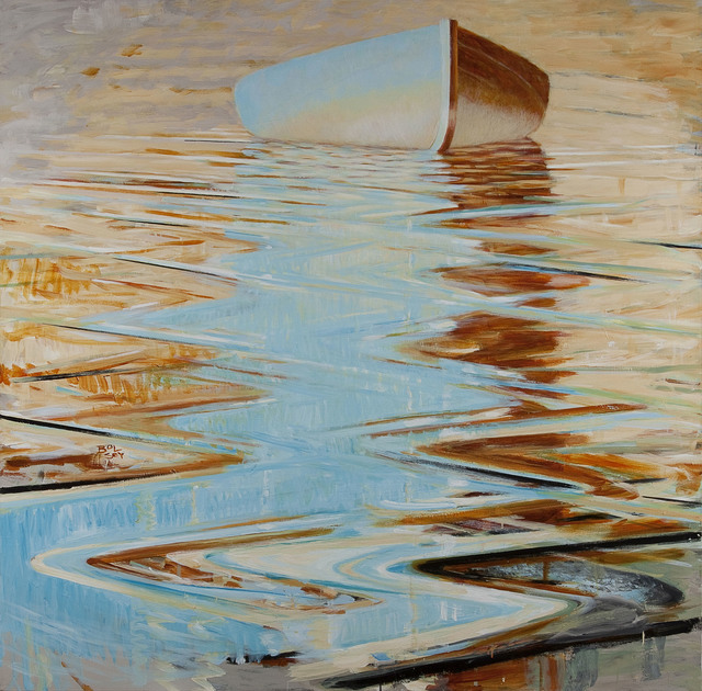 , 'Dawn/Wooden Boat,' 2015, Cross Mackenzie Gallery