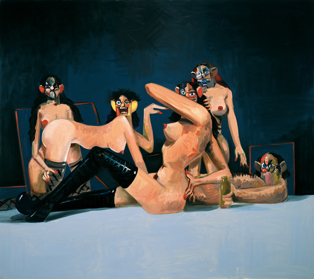 George Condo, 'Orgy Composition', 2008, Gary Tatintsian Gallery