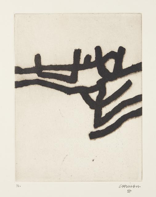 Eduardo Chillida, 'Ibili II (Walk II)', 1963, Phillips