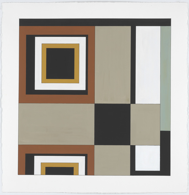 , 'Carpet Color Study #4,' 2014, New Art Centre