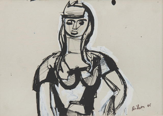 Jean Hélion, 'Portrait de femme', 1946, HELENE BAILLY GALLERY