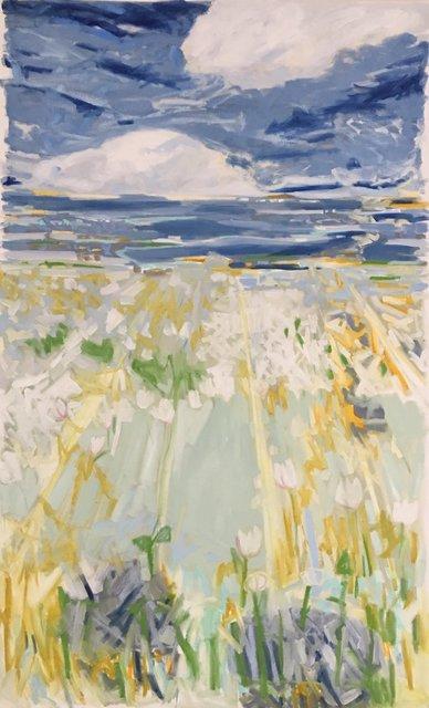 , 'Flower Fields,' 2018, Page Bond Gallery