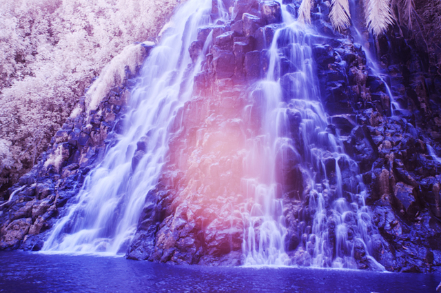 , 'Untitled (Waterfall),' 2015, East Wing
