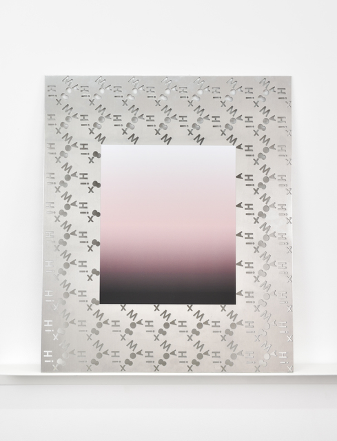 , 'Subtracted Poem (the dim of disappearing, bowed down. Deep down on unseen knees), ,' 2017, Galerie Mitterrand