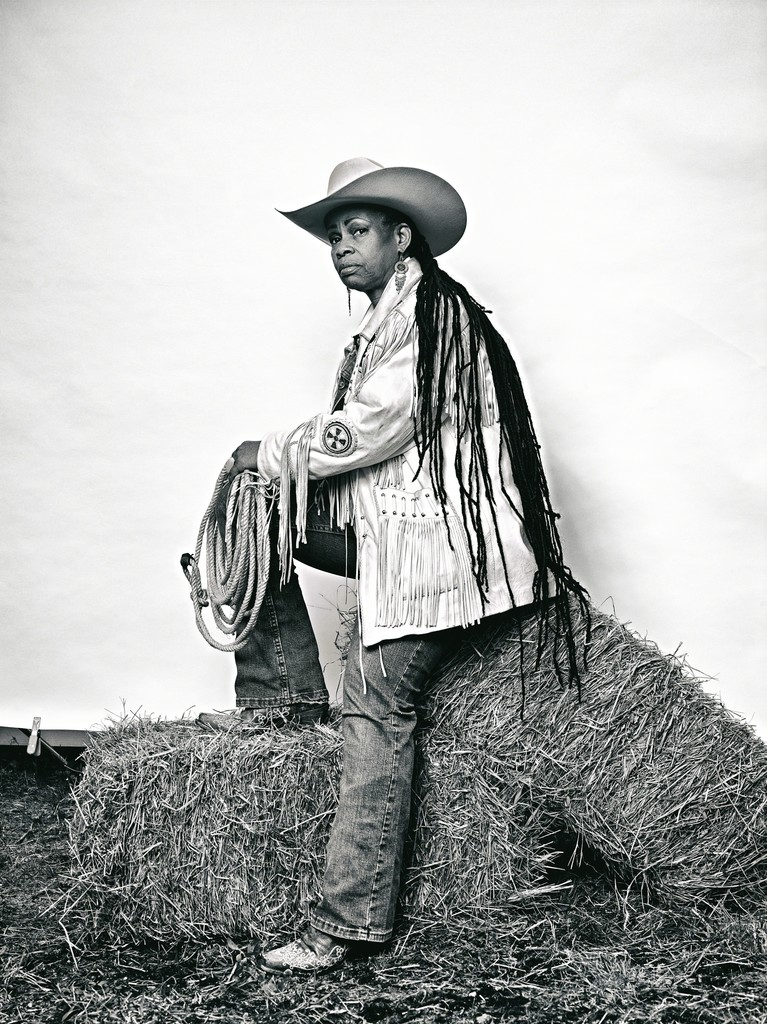 """""""Mama"""" Kesha Morse from """"The Federation of Black Cowboys"""" series for The Village Voice"""