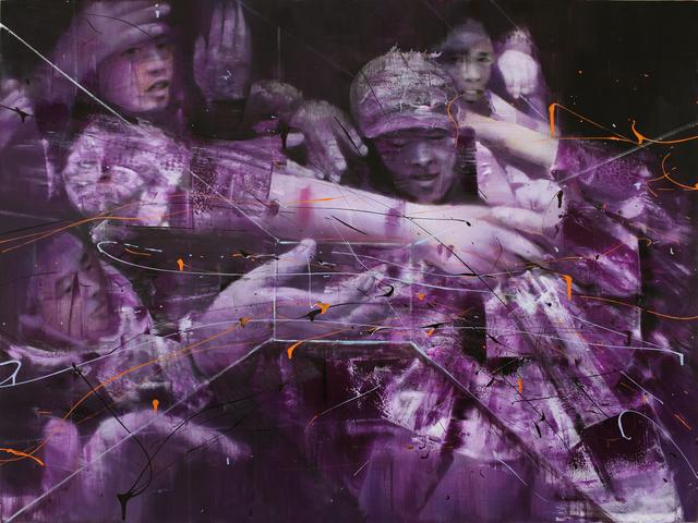 , 'Purple Looting,' 2018, Mazel Galerie