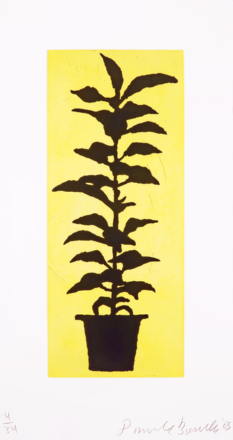 , 'Potted Plant,' 2005, Goya Contemporary/Goya-Girl Press