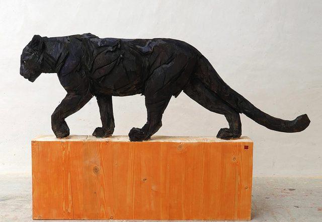 , 'Walking Black Panter,' 2019, Absolute Art Gallery