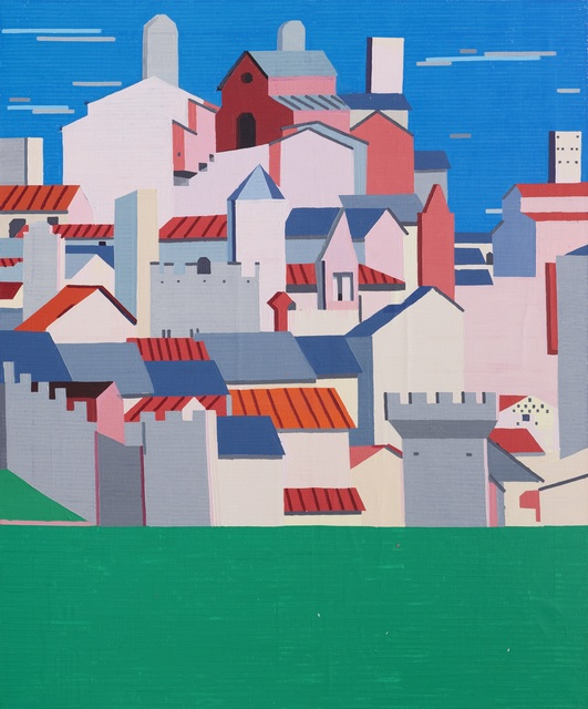 , 'Grey Clouds Over the Old City,' 2016, Johannes Vogt Gallery