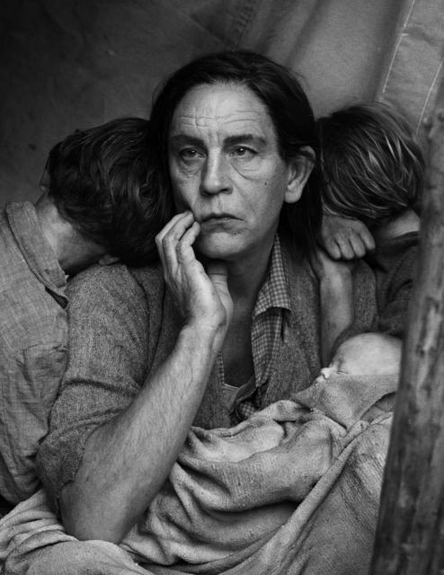 Sandro Miller, 'Dorothea Lange / Migrant Mother, Nipomo, California, 1936 ', 2014, Fahey/Klein Gallery