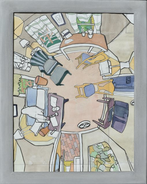 , 'East Stret Interior 5,' 2016, GF Contemporary