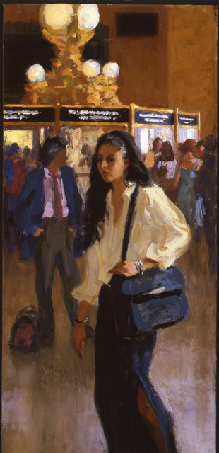 , 'Commuter Evening Rush,' 2011, ACA Galleries