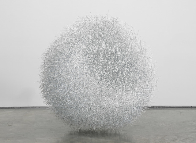 , 'White Nest,' 2018, De Buck Gallery