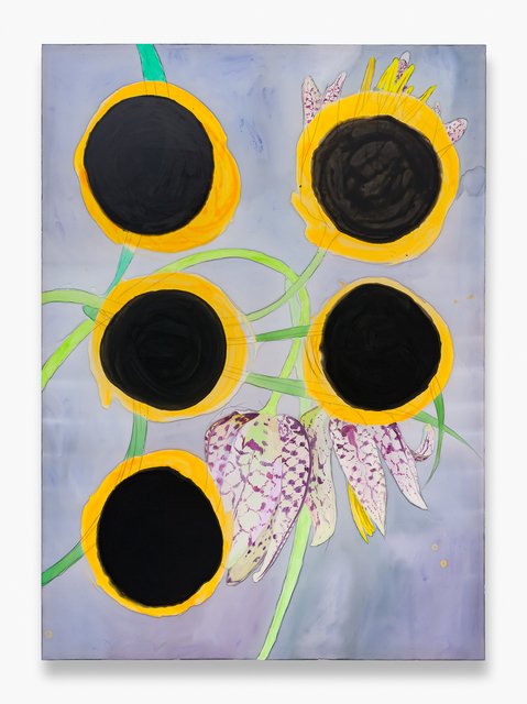 , 'Fritillaria with Five Burns,' 2017, Night Gallery