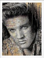 Mr. Brainwash, King of Rock (Elvis Presley) Gold