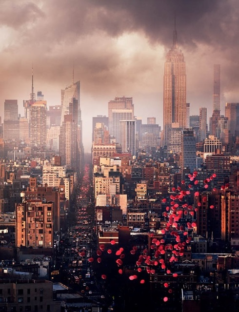, 'Balloons over New York,' 2016, Contessa Gallery
