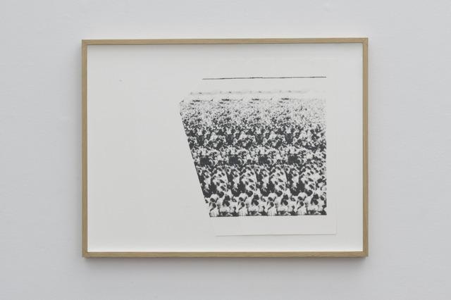 , 'Sin Titulo (Trama #6),' 2012, ProjecteSD
