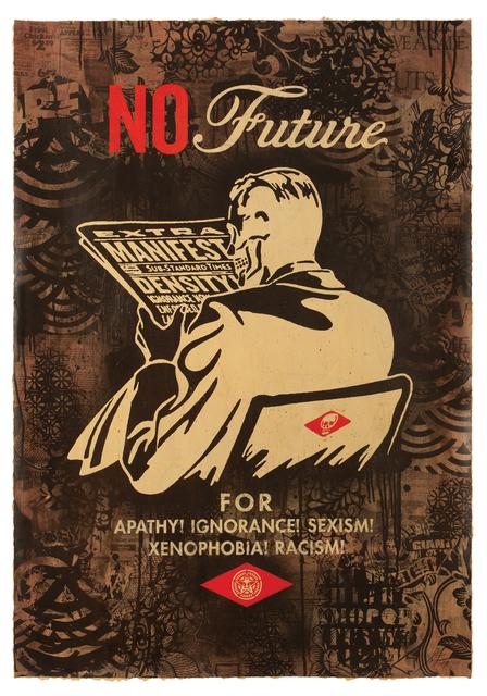 , 'No Future (Black),' 2017, Treason Gallery