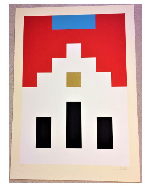 "Invader, '""Marlboro"", 2017, Serigraph, Signed and Numbered Edition of 200,', 2017, VINCE fine arts/ephemera"