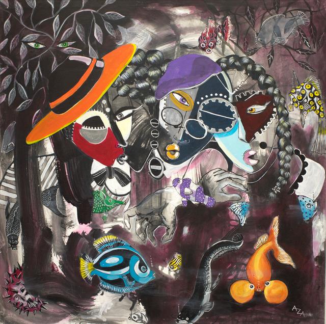 Aza Mansongi, 'Boomerang', 2016, AfricArt Gallery Hong Kong