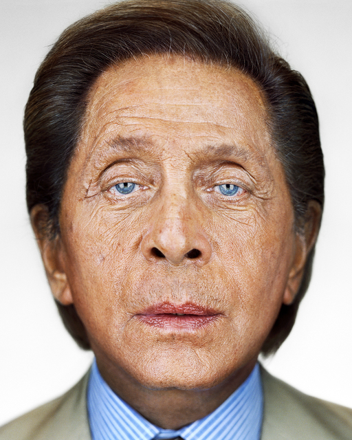 Martin Schoeller, 'Valentino', 2005, Photography, Ostlicht. Gallery for Photography