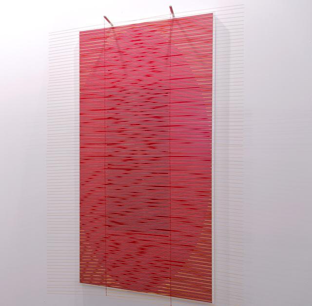 , 'El óvalo escarlata,' 2002, Puerta Roja