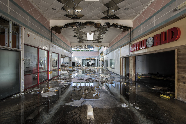 """, '""""Art World"""" Wayne Hills Mall (from the Dead Mall series) color photograph,' 2019, Front Room Gallery"""