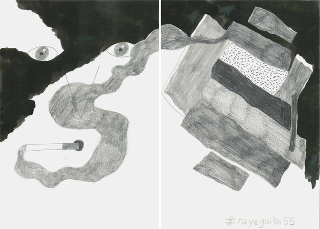 , 'La noche es nuestra (#rayeguito55),' 2018, Estrany - De La Mota