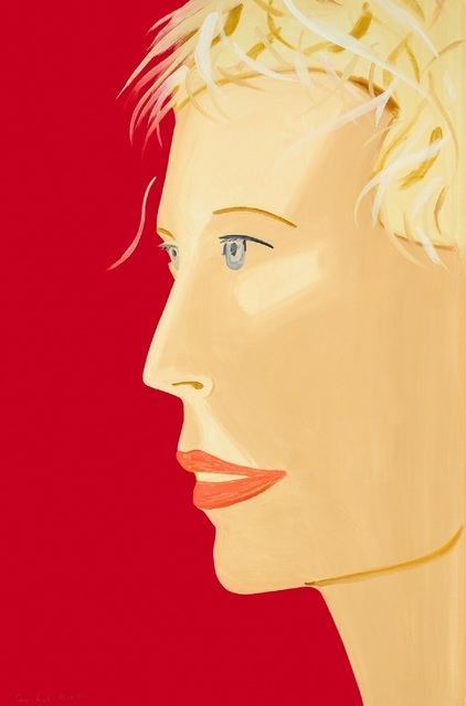 Alex Katz, 'Coca-Cola Girl (red)', 2018, Korff Stiftung GmbH
