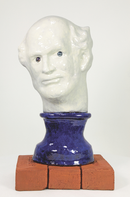 Robert Arneson, 'Blue Eyes', 1991, Brian Gross Fine Art