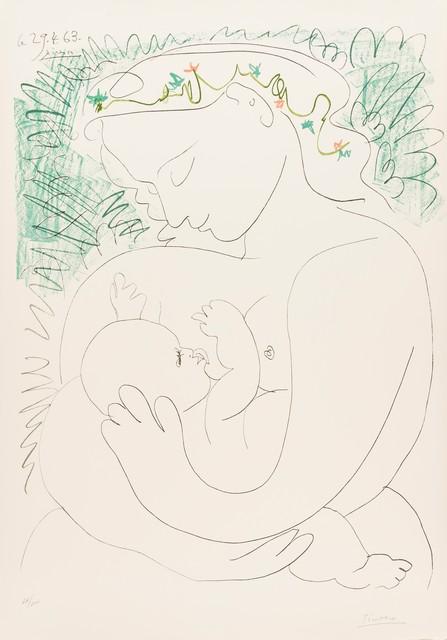 Pablo Picasso, 'Grand Maternité', 1963, Print, Lithograph printed in colours, Forum Auctions