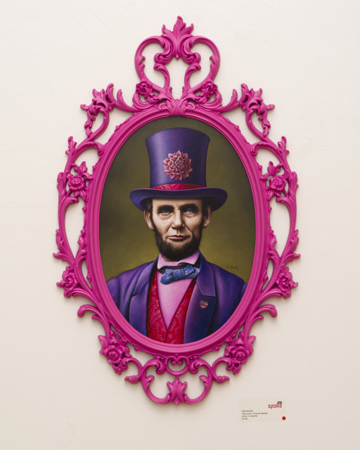 , 'Abe Lincoln: American Badass,' 2013, Spoke Art