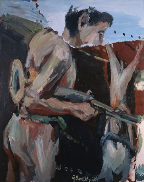 """, '""""Ein Jäger (A Hunter)"""",' 1968, Michael Werner Gallery"""
