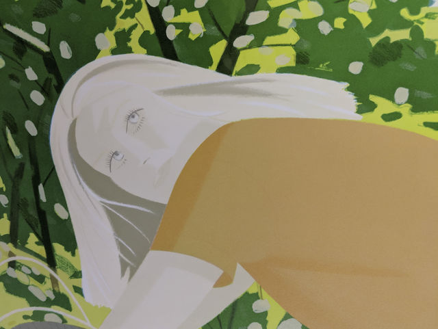 Alex Katz, 'Bicyling in Central Park', 1983, Capsule Gallery Auction