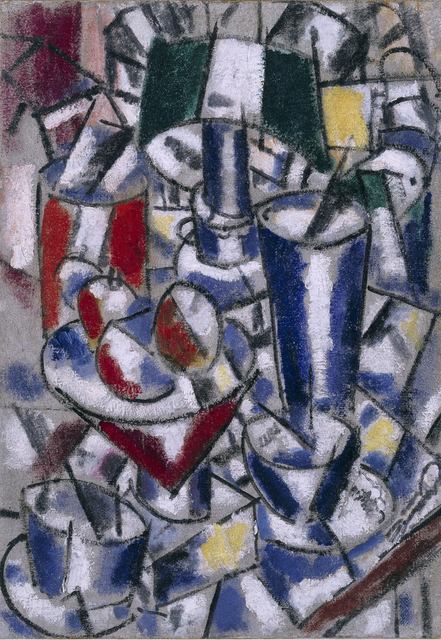 Fernand Léger, 'Nature morte à la lampe (Still Life with Lamp)', 1914, Painting, Oil on canvas, Museo Reina Sofía
