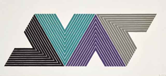 Frank Stella, 'Empress of India I, from V Series', 1968, Phillips