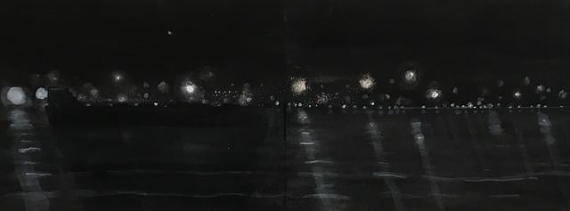 , 'Dark Ship on River,' 2016, Lesley Heller Gallery